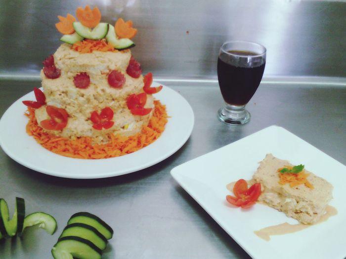 Pastel de pollo :) Food Foodisdelicious