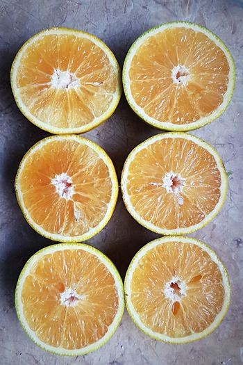 Seis mitades Fruit Cross Section Healthy Eating Citrus Fruit Halved SLICE High Angle View Food Close-up Freshness