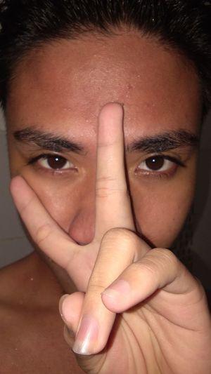 Love Yourself Human Hand Human Finger Human Face Headshot Young Adult Close-up Human Body Part