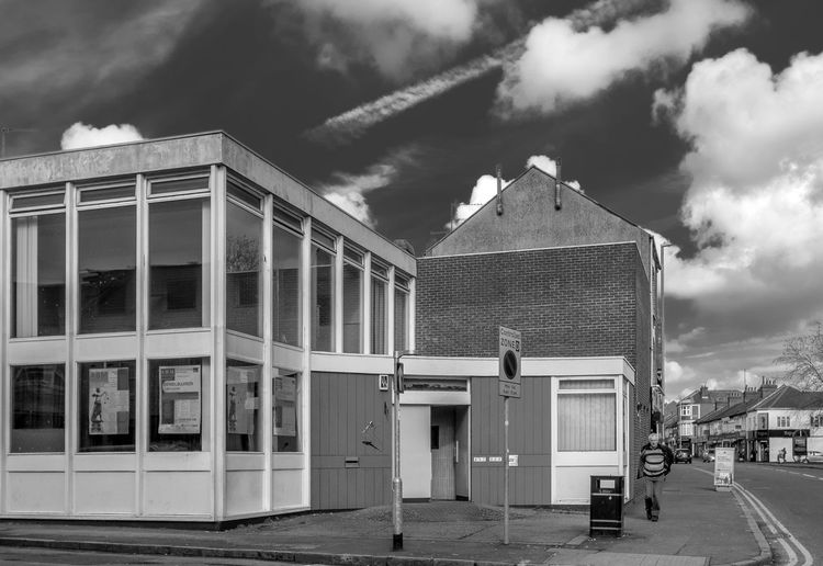 Former Barclay's Bank, Kettering Road, Northampton Blackandwhite Black And White Monochrome Street Urban FUJIFILM X-T2 Northampton Bank Kettering Road Architecture Building Exterior Built Structure