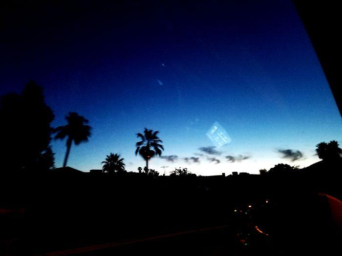 The morning sky in Arizona