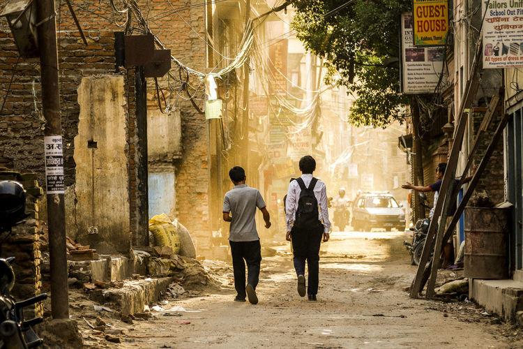 Ended Day I Nepal Postcard Documentary Earthquake EarthquakeNepal Photography
