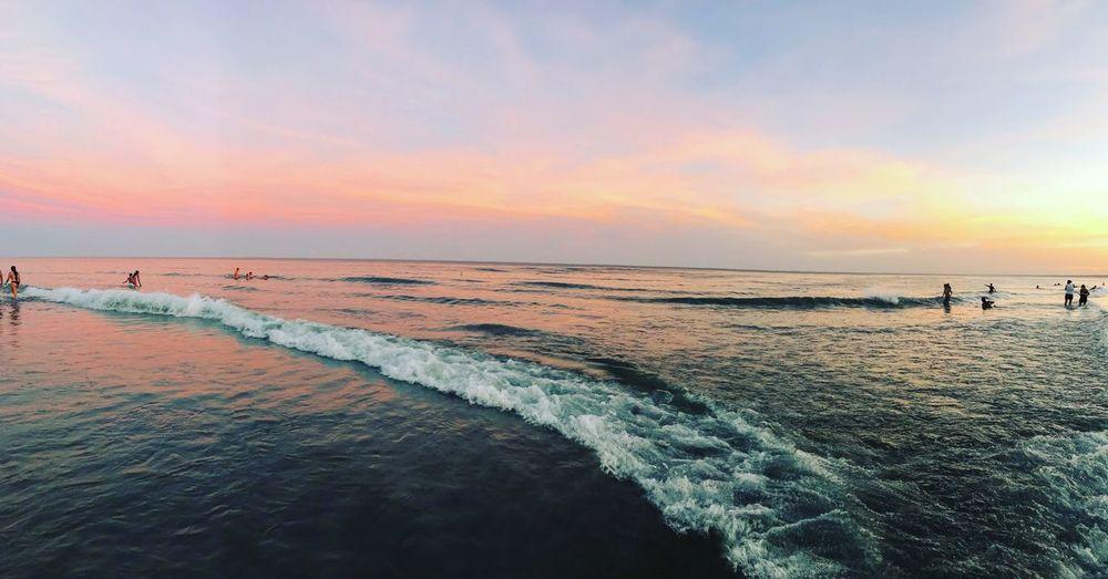 Hasta donde tus ojos pueden ver Summertime Summer Ocean First Eyeem Photo