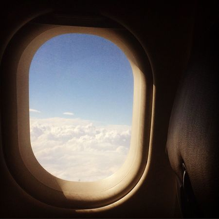 The Journey Is The Destination Flying