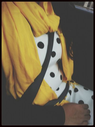 Yellow On Dots