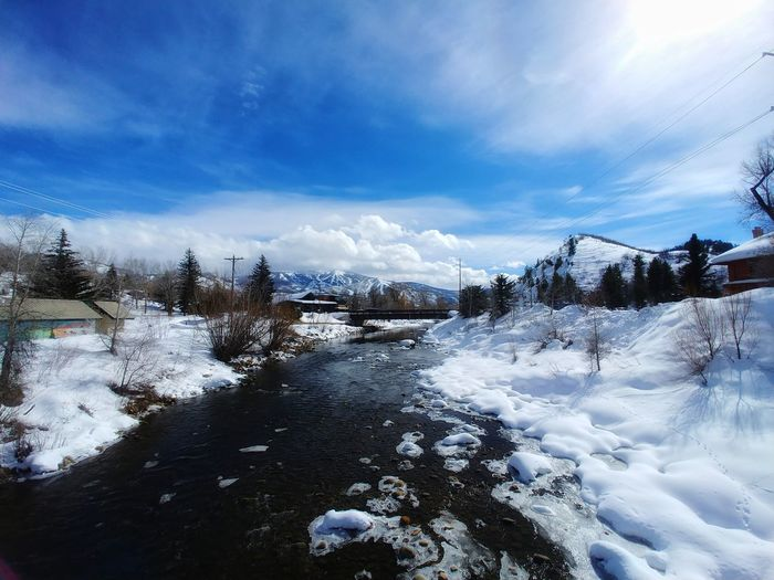 Hello Steamboat River Cold Temperature Snow Mountain Cold Temperature Tree Winter Pinaceae Sunset Forest Pine Tree Sky Snowcapped Mountain Snowing Deep Snow Snowfall Rocky Mountains Frozen Mountain Range Powder Snow Extreme Weather