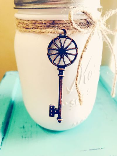 EyeEm Selects Mason Jar Crafting Indoors  Close-up Mason Jar Masonjarcraft Ilovemasonjars Masonjarpic Soap Dispenser