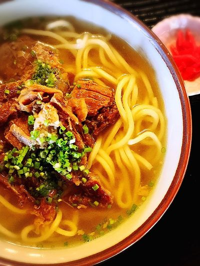 yaeyama noodle Japan Haterumajima Yaeyama Okinawa Noodles Food And Drink Pasta Food Indoors  Freshness Still Life