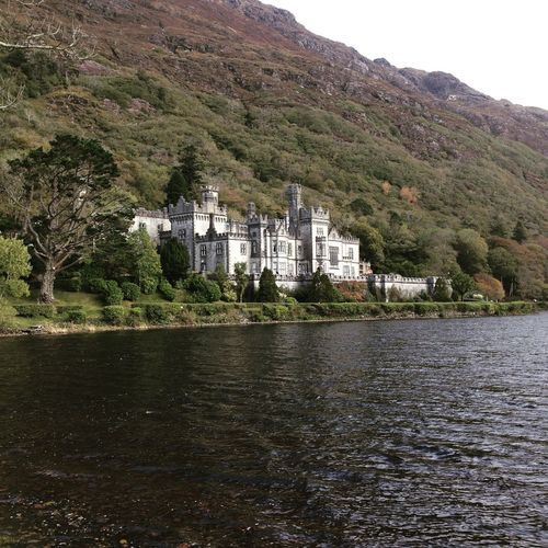 Abbey Architecture By The Lake Connemara Kylemore Abbey Landscape Nature Outdoors Scenics Tranquil Scene Tranquility