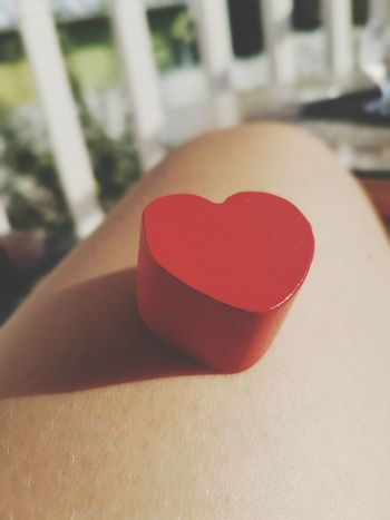 Heart Shape Love Red Valentine's Day  Wooden Heart Shape Of Heart Red Heart EyeEmNewHere The Week On EyeEm Mix Yourself A Good Time Be. Ready.