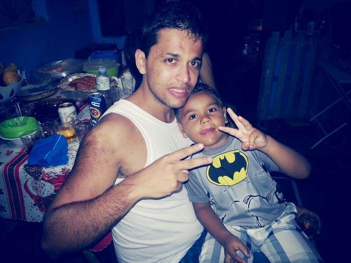 eu e meu sobrinho. ..
