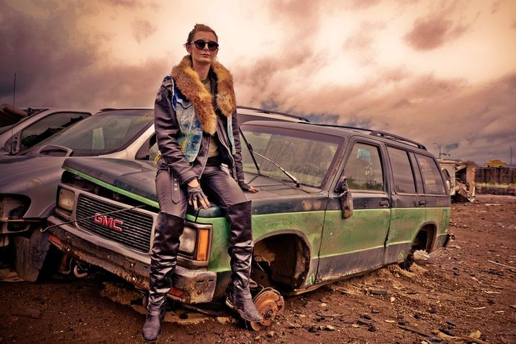 Mad Max Fashion Junkyard soo much fun on a gloomy sunday