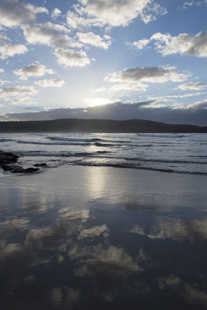 Australia Travel Beach Beauty In Nature Cloud - Sky Horizon Horizon Over Water Idyllic Land Nature No People Outdoors Reflection Scenics - Nature Sea Sky Sunset Tranquil Scene Tranquility Travel Destinations Water Wave