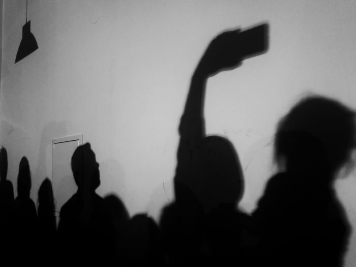 Mobile Conversations Silhouette People Mobile_photographer Mobilephotography Poland HuaweiP9 Mobile Photography Black And White Streetphotography Street Photography