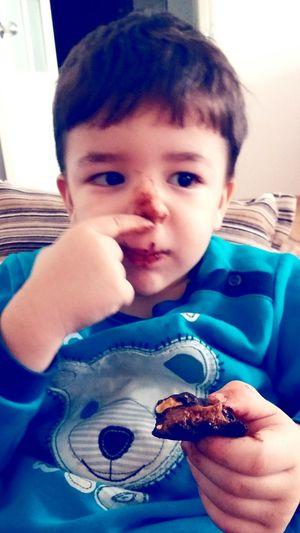 çikolata Canavari Agzini Yuzunu Yerim Bu Kadarda Tatlı  Olunmazkii First Eyeem Photo 💋💋