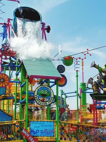 Water amusement park Arts Culture And Entertainment Amusement Park Travel Destinations Summer Outdoors Vacations Water Sky Stories From The City