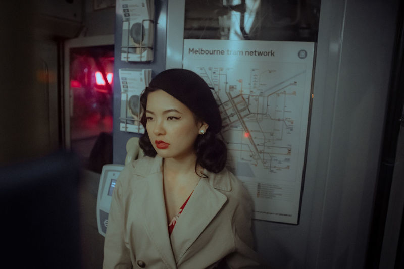The Portraitist - 2018 EyeEm Awards Adult Casual Clothing Contemplation Front View Glass - Material Hairstyle Indoors  Lifestyles Looking Looking Away One Person Portrait Real People Standing Waist Up Window Women Young Adult Young Women