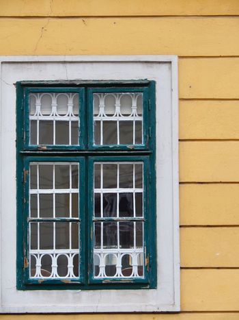 EyeEm Selects Window Architecture Building Exterior Day Built Structure No People Yellow Outdoors Close-up