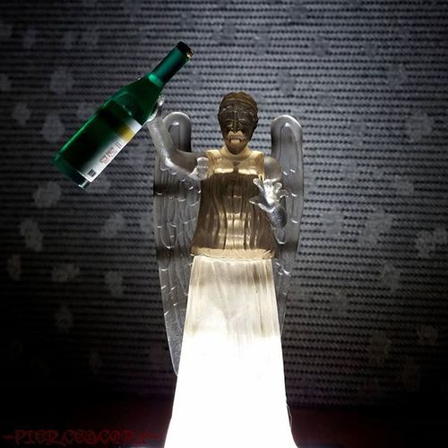 This feels like a trap. But I do like to party...... Weepingangels Doctorwho Weepingangel