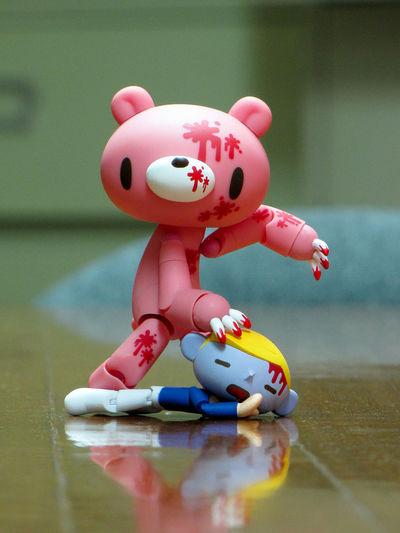 Animalattack BLOODY Day Figurine  Gloomy Bear Indoors  Revoltech Toy Toyphotography