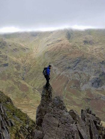On The Pinnacle Pinnacle Ridge St Sunday Crag Lake District Cumbria England United Kingdom Timeless Mountain Scenery Nature Landscape Photography Finding New Frontiers