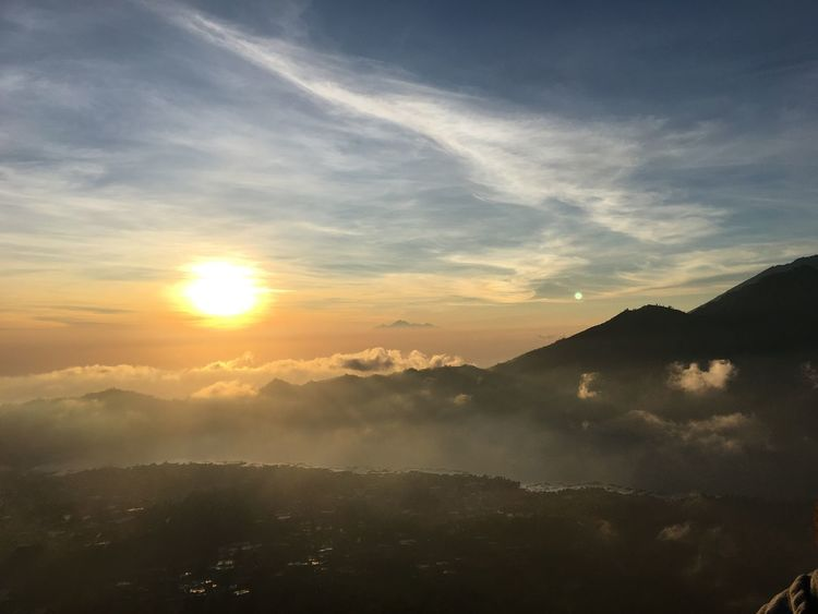 Sunrise Volcano Bali INDONESIA Beauty In Nature