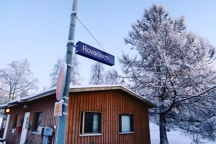 Rovaniemi, Finland Finland Western Script Text Outdoors Day Sky No People Low Angle View Guidance Communication Snow Building Exterior Winter Built Structure Road Sign Architecture Tree Close-up Travel Wanderlusting✈💯 Travelling Europe Solotravel Tranquility Snowy View!