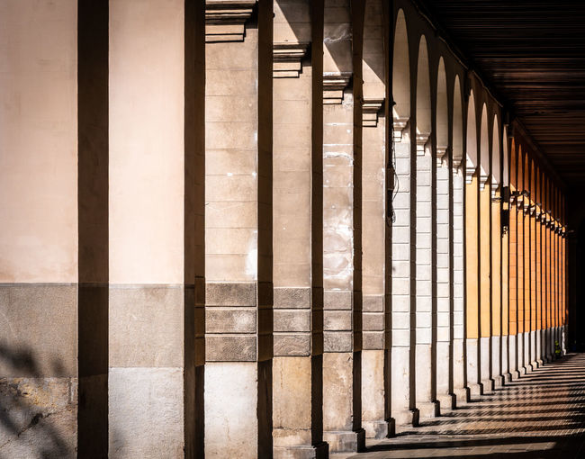 Columns In Building