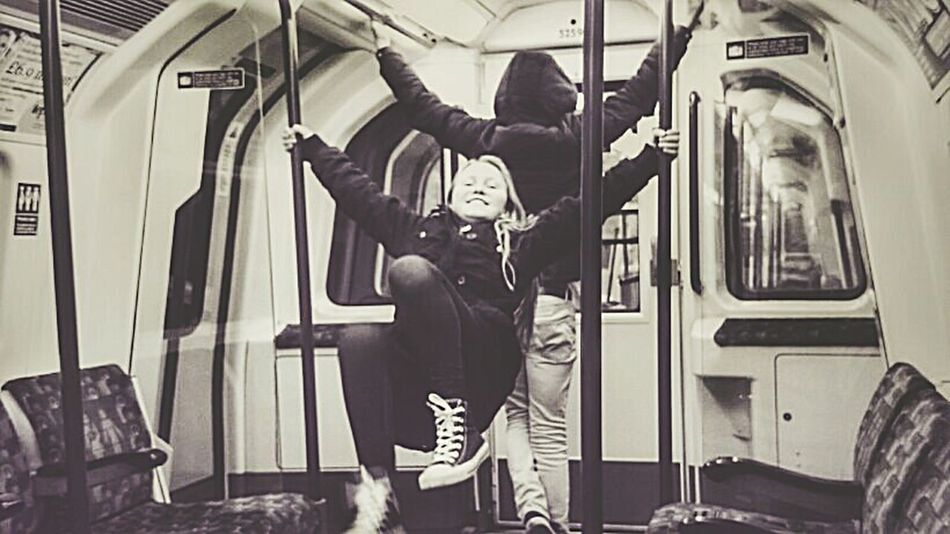 Swing Seats Faces In Places Train Journey Exercise Time Hanging Out Happiness Capturing Freedom Capture The Moment Family Time Underground Mobile Photography