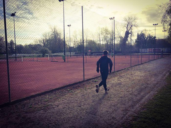 Morning Footing Sports Photography Kids Tenniscourt Tennis 🎾 Tennis Court Terre Battue Entrainement Entraînement Matinal Alternative Fitness