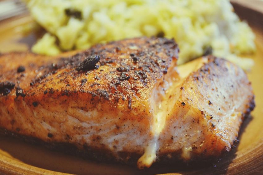 Mealtime SalmonLove Grilled Salmon Bon Appétit! Enjoying Life Food Food Photography Foodporn On My Plate Food Stories