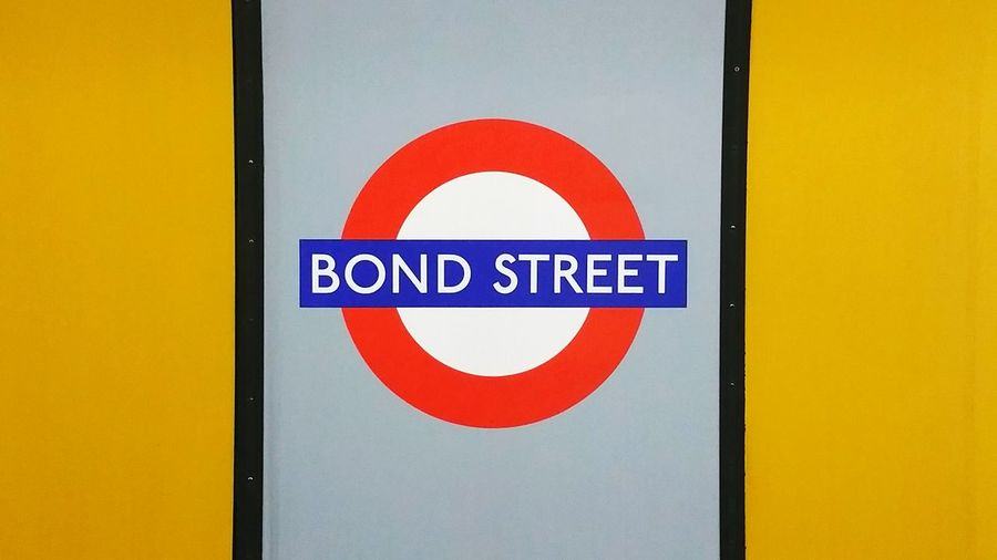 Subway Public Transportation Commuting Notes From The Underground On The Underground Bond Street Bond Street Station Journey Begins Station Name Name Of The Station Bond Underground Station  Underground Signs Signboard Sign Signage View From The Train Platform