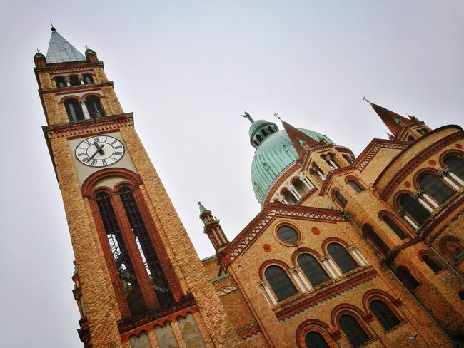 Architecture History Low Angle View Built Structure Travel Destinations Building Exterior No People Day Clock Outdoors City Sky Kirche Herbst Autumn Clock Face Austria City Favoriten Vienna