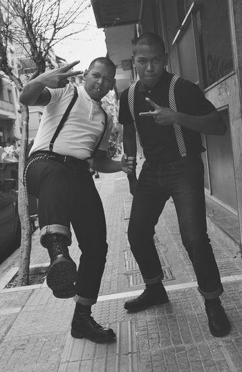 OI BROTHERS Bro Photography Capture Oi Skinheadlife Skinhead Brothers People Bnw_captures Blackandwhite
