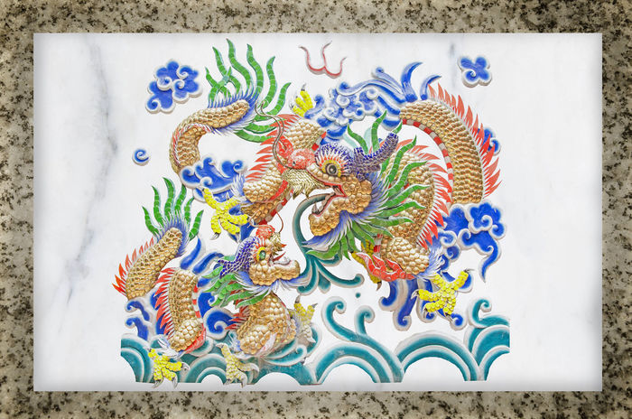 Antiques Chinese Golden Dragon on white marble wall Sculpture art ancient wall Antiques more than two hundred years Every era has been restored. Located in a park open to visitors at no cost. Temple decoration Ancient Ancient History Art And Craft Asian  Asian Culture China Deagon Chinatown Dragon Statue Antiques Antiques Photography Art Art And Craft China Culture And Tradition Decoration Multi Colored Oriental Religious  Sculpture Sculpture In The City Temple Temple Architecture Traditional Vintage