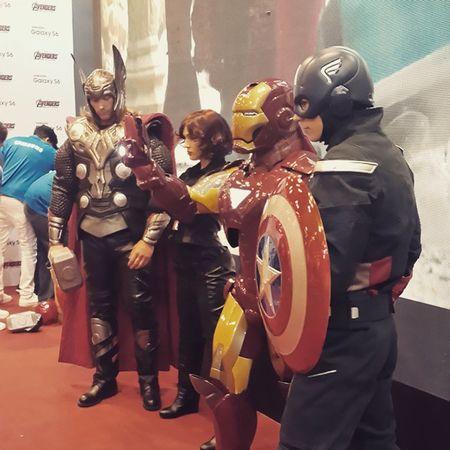 AvengersAssemble Comiccon Dubai