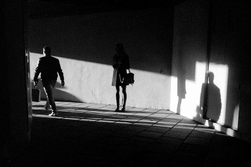 The Illuminator - 2014 EyeEm Awards Shadow Black & White
