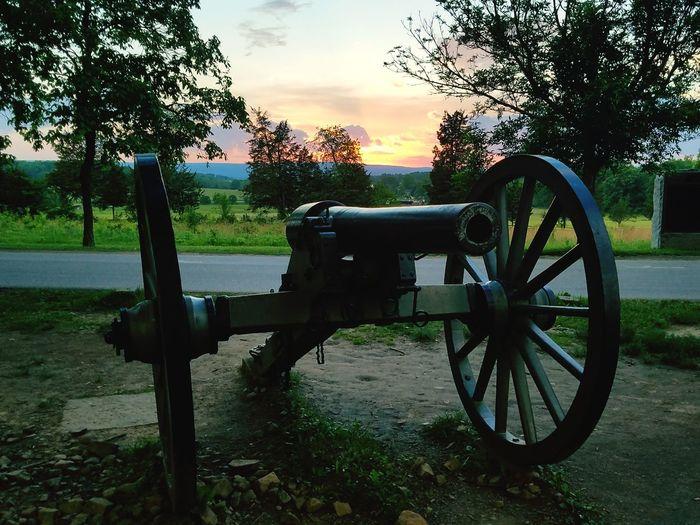 Cannon Tree History Military Outdoors National Park Gettysburg Battlefield Gettysburg Pennsylvania Gettysburg National Military Park