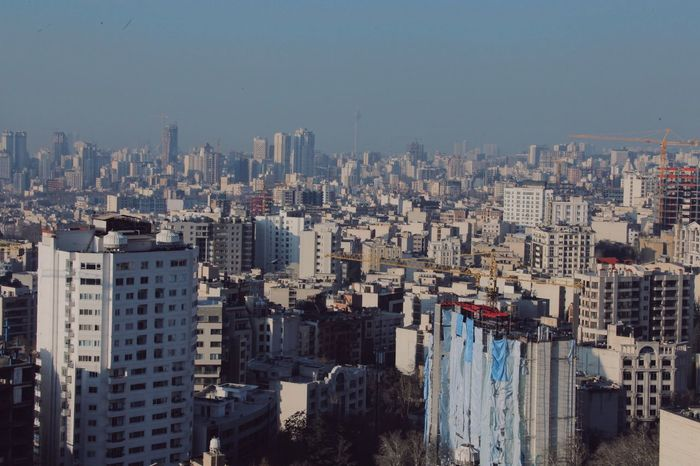 The real Concrete Jungle Building Exterior City Architecture Built Structure Cityscape Residential Building No People Outdoors Day Skyscraper Tehran Iran Tehran, Iran Open Edit The Architect - 2017 EyeEm Awards