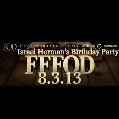 My birthday party next Friday! Fff Haoman17 @shirazi_shimon