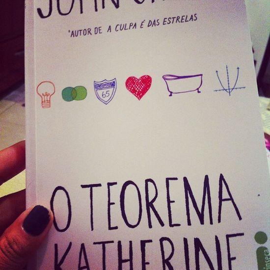 John green ❤️Johngreen Livro  Lêr Oteoremakatherine 19katherines leitura boa-noite bestoftheday photooftheday thebest