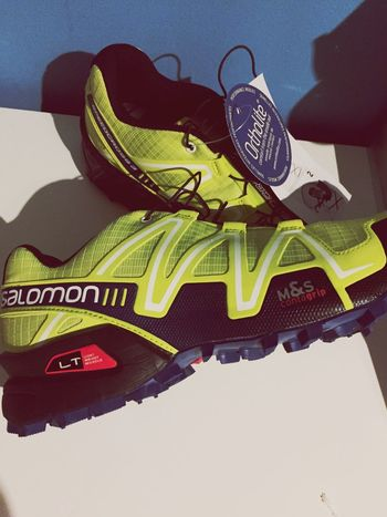 My new trial shoes Trail Trailrunning Salomonrunning TrailGeorge Stravarun