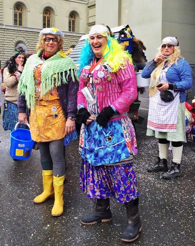 Berner Fasnacht 2016 Fasnacht Colors Of Carnival Friends Model Topmodel  Topmodels Hello World Traditional Culture IPhoneography IPS2016Street Hi! Laughing Check This Out Enjoying Life Carnival EyeEm Best Shots - The Streets Eyeemphotography From Where I Stand Iphone6plus Photography In Motion
