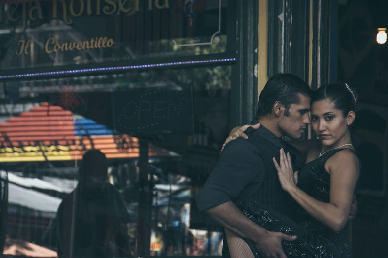 Tango couple in Buenosaires Argentina RePicture Masculinity The Street Photographer - 2015 EyeEm Awards