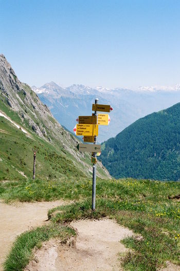 Hiking the TMB. Film France Hiking Kodak Tranquility Close-up Day Italy Mountain No People Outdoors Sky Travel Destinations