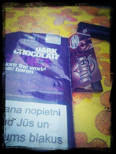 Dark Chocolate tabaka un Milk chocolate pārīši... Awsome Tabaco - #NoProblems ... Smoke