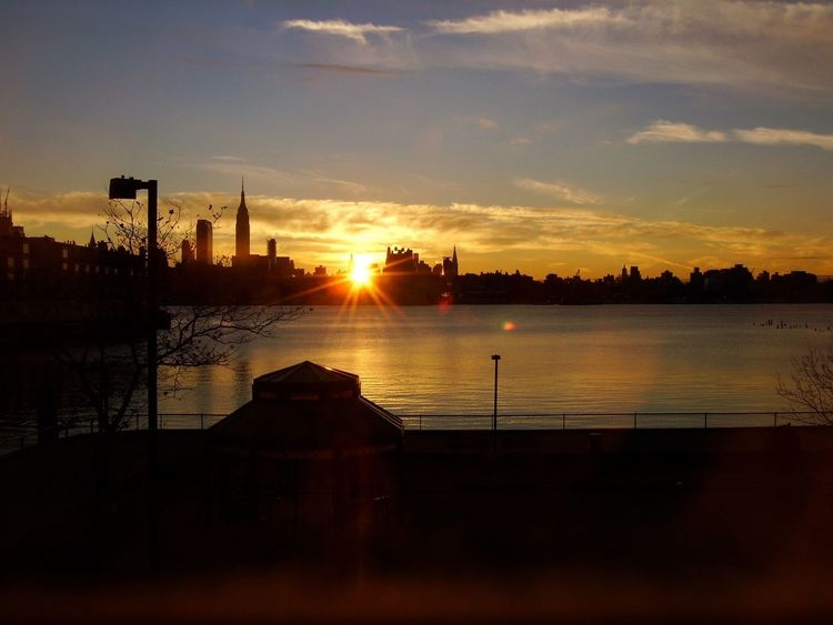 NYC Sunrise Good Morning Nyc's View From Hoboken