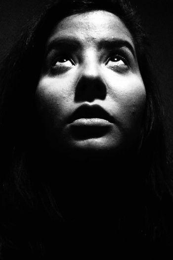 Portrait Faces Of EyeEm Blackandwhite IPhoneography Light And Shadow Random Shot EyeEm Portraits Bohemian Rhapsody Queen Real Life BackToBlack