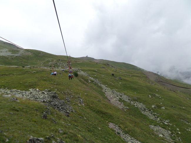 Adventure Foggy Landscape Mountain Mountain Range Outdoors Caucasian Mountains КавказскийХребет Mountain Peak домбай