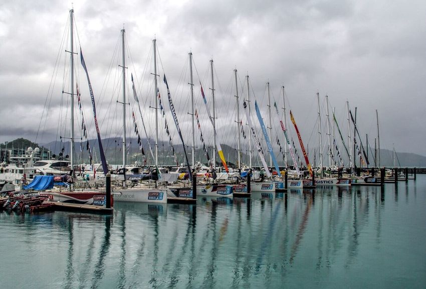 Boats Australia Cairns Sea Water Nature Sky Nautical Vessel Transportation Moored Mast Boat Cloud - Sky Outdoors Beauty In Nature Harbor No People Scenics Day Sailboat Yacht
